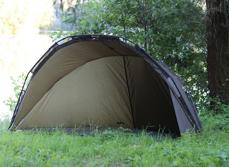 jrc brolly gesamt2 770x560 - Perfekt für Shorties: Das JRC Defender Shelter