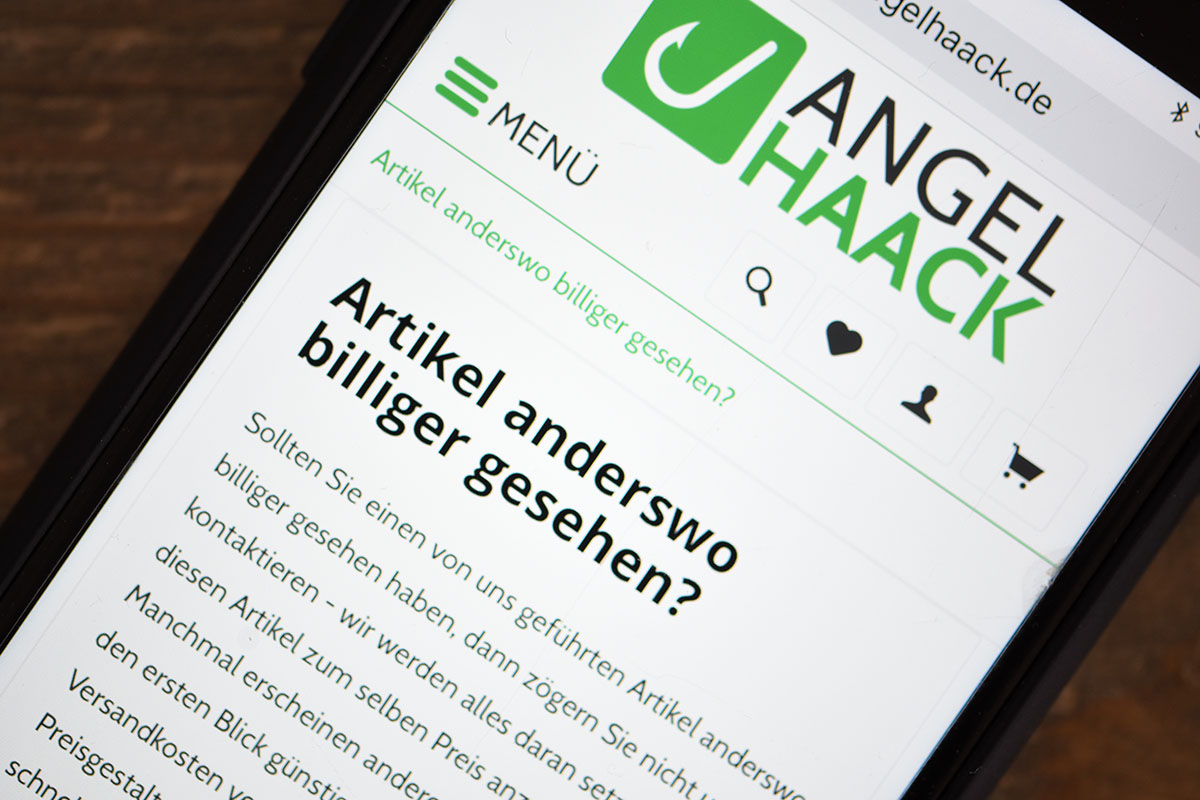 Artikel anderswo guenstiger -  - AngelHAACK, Angebote