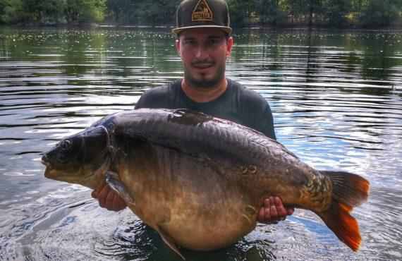 Über 30 Kilo Spiegler für Patrick Weiss