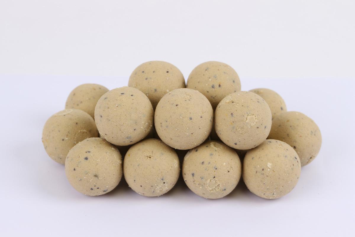 twelveft prbaits white nut boilies6 -  - PR Baits