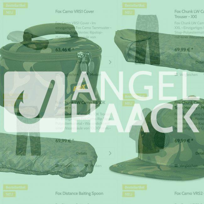 twelveft angelhaack fox 650x650 - Ab sofort: Neuer Fox-Stuff lieferbar