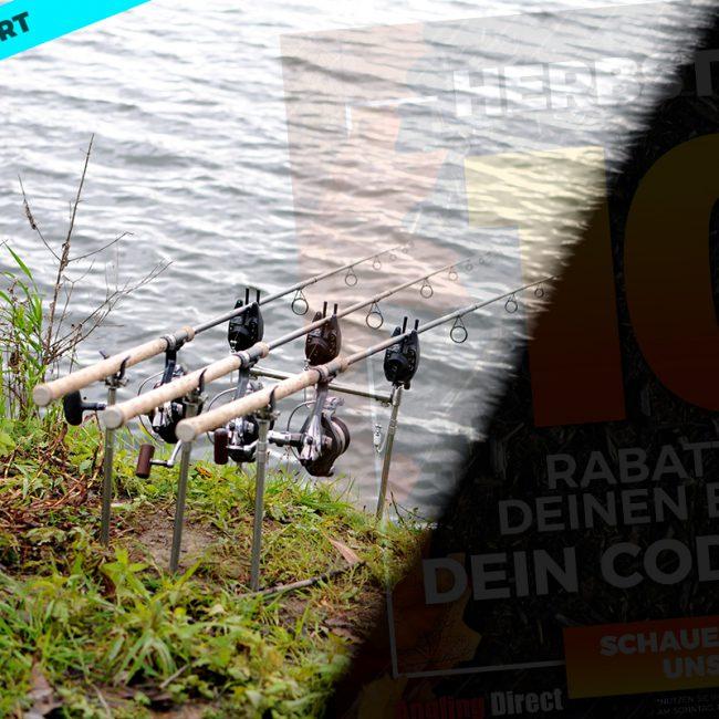 angling direct verlaengert 650x650 - 10% Rabatt für Karpfenangler