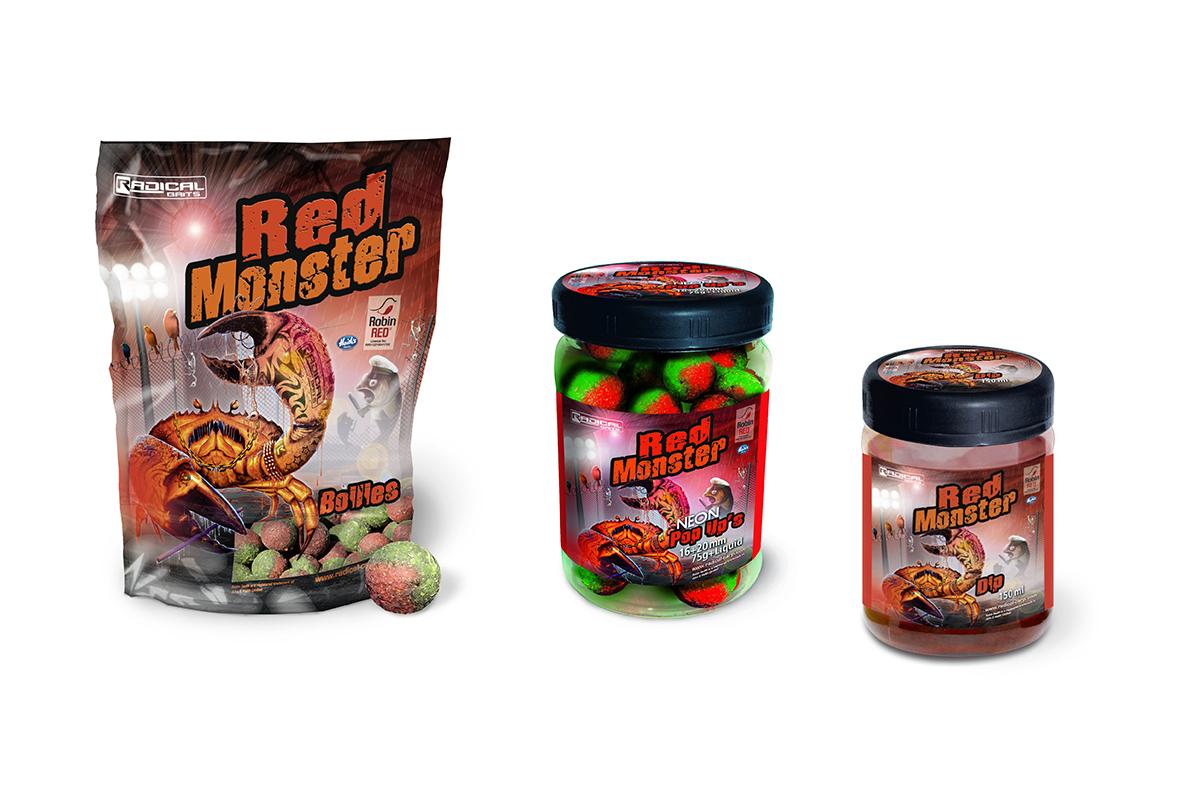 twelveft radical carp red monster 3 -  - Radical