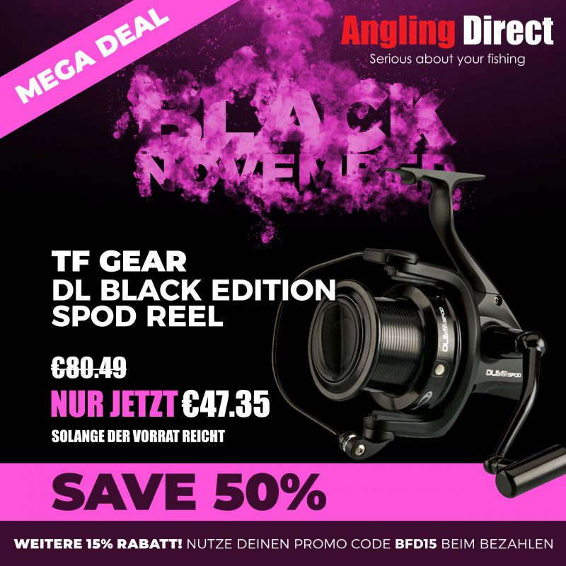 1Black Friday 2018 Product SquareTFgear FriDE Mega Deal Recovered 800x800 -  - Angling Direct