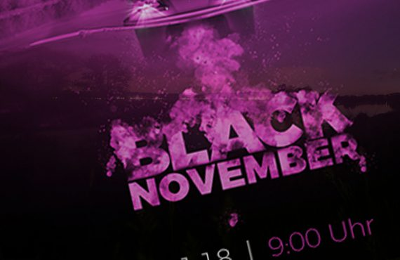 Black November bei Angling Direct