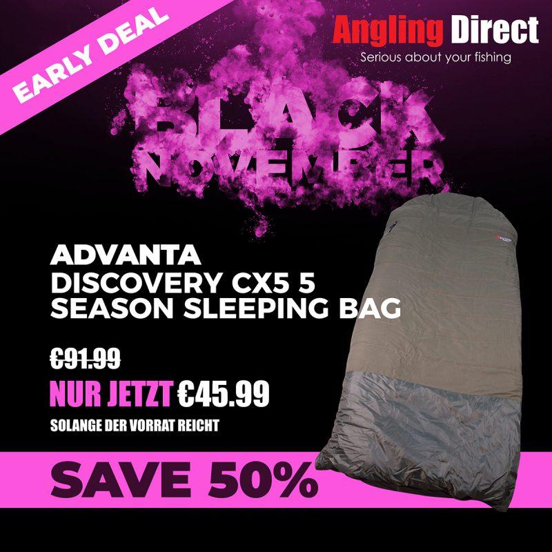 twelvefeetmag Black Friday 2018 Product Square Advanta Discovery CX5 5 Season Sleeping Bag 800x800 -  - Angling Direct