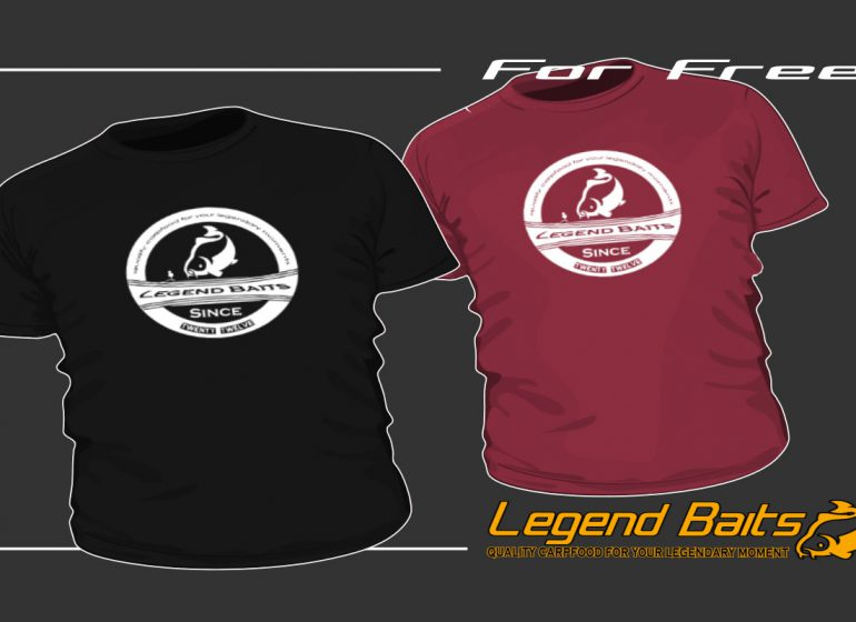 twelvefeetmag legendbaits tshirts 1 770x560 - T-Shirt – for free