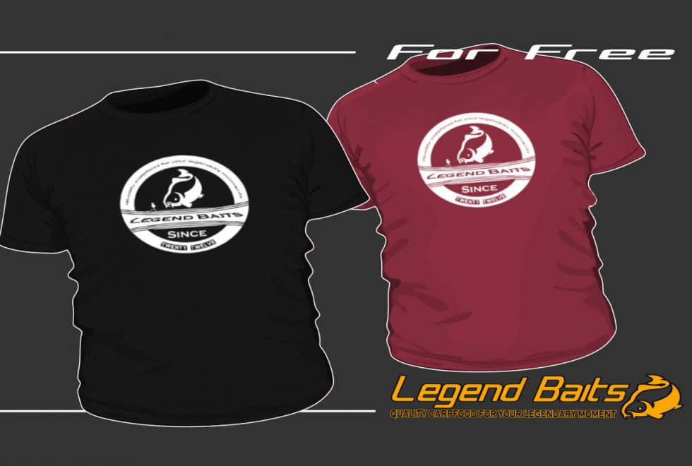 twelvefeetmag legendbaits tshirts 1 980x660 - T-Shirt – for free
