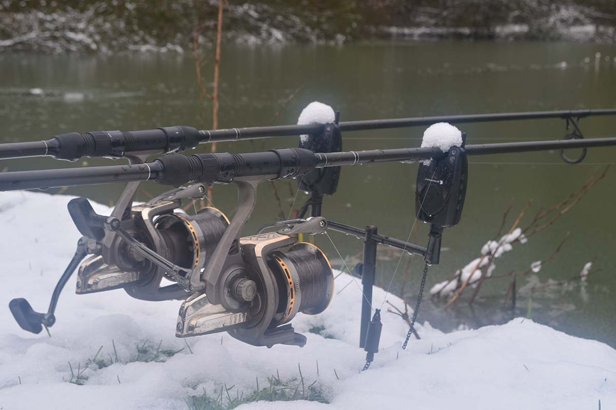 twelvefeetmag 5A5M Maik Plate Karpfenangeln im Winter 4 -  - KArpfenangeln im Winter