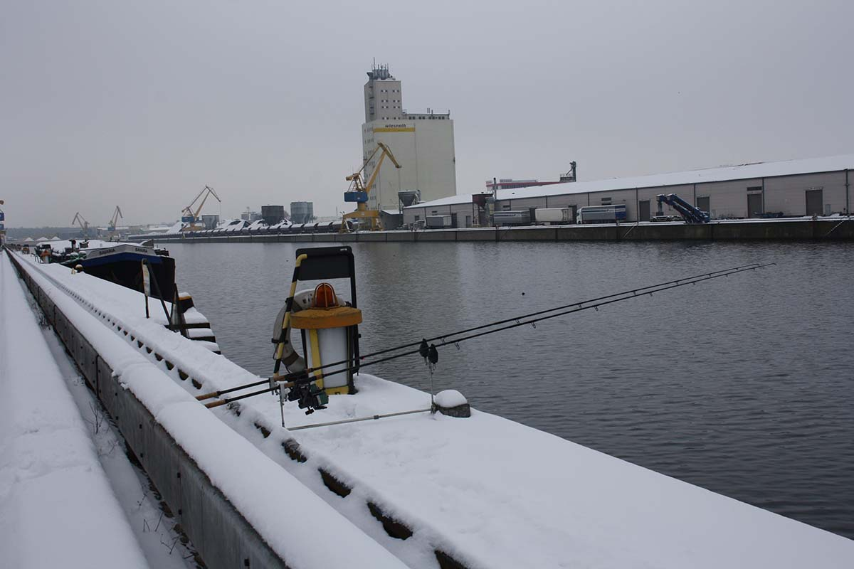 twelvefeetmag 5A5M Sandy Bauer Karpfenangeln im Winter 4 -  - KArpfenangeln im Winter