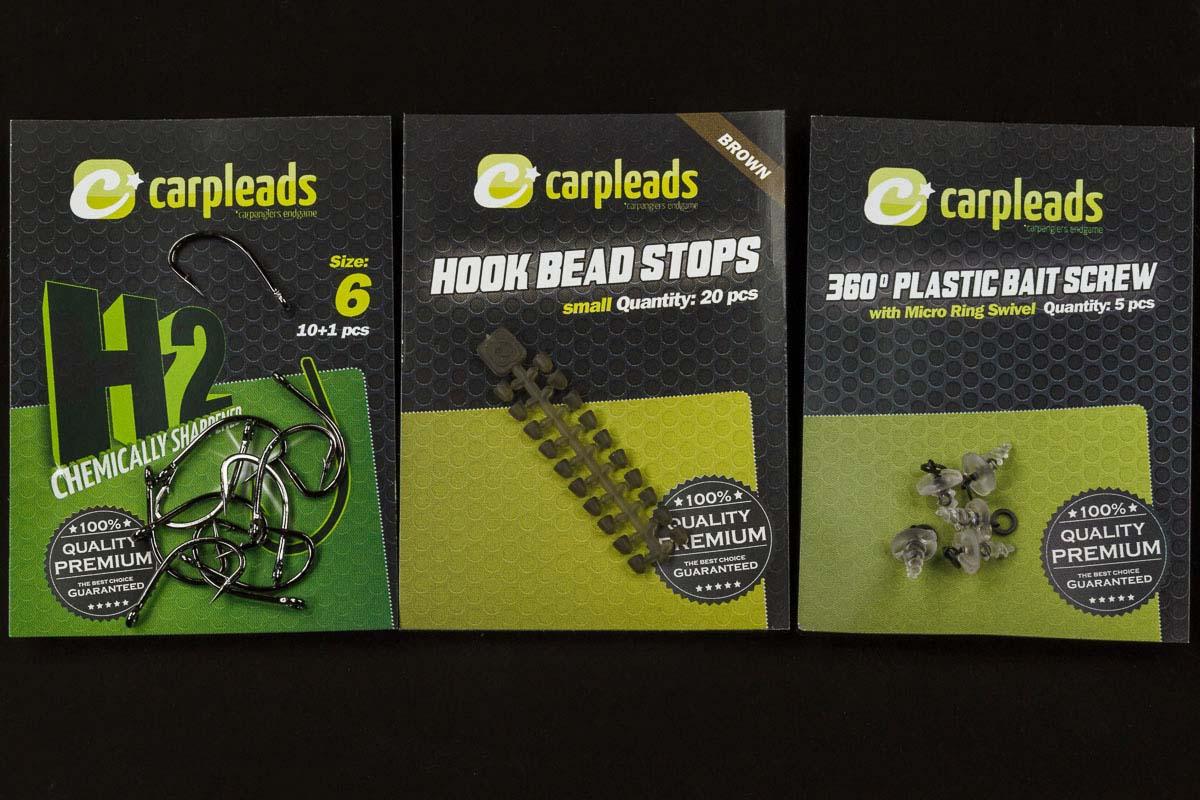 twelvefeetmag carpleads gamma Rig 2 Haken Baitscrews Hook Bead Stops -  - Gamma Rig