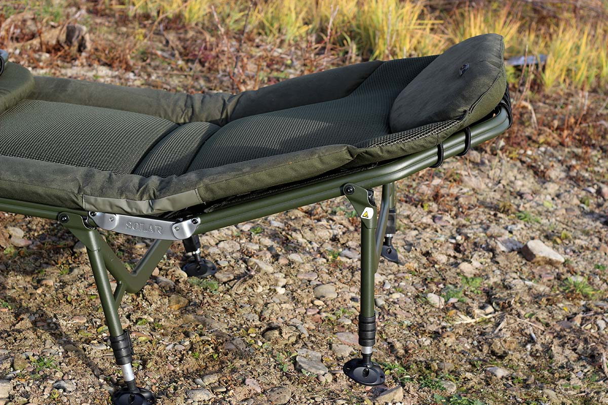 twelvefeetmag solar tackle sp c tech bedchair 19 -  - Solar Tackle, Bedchair