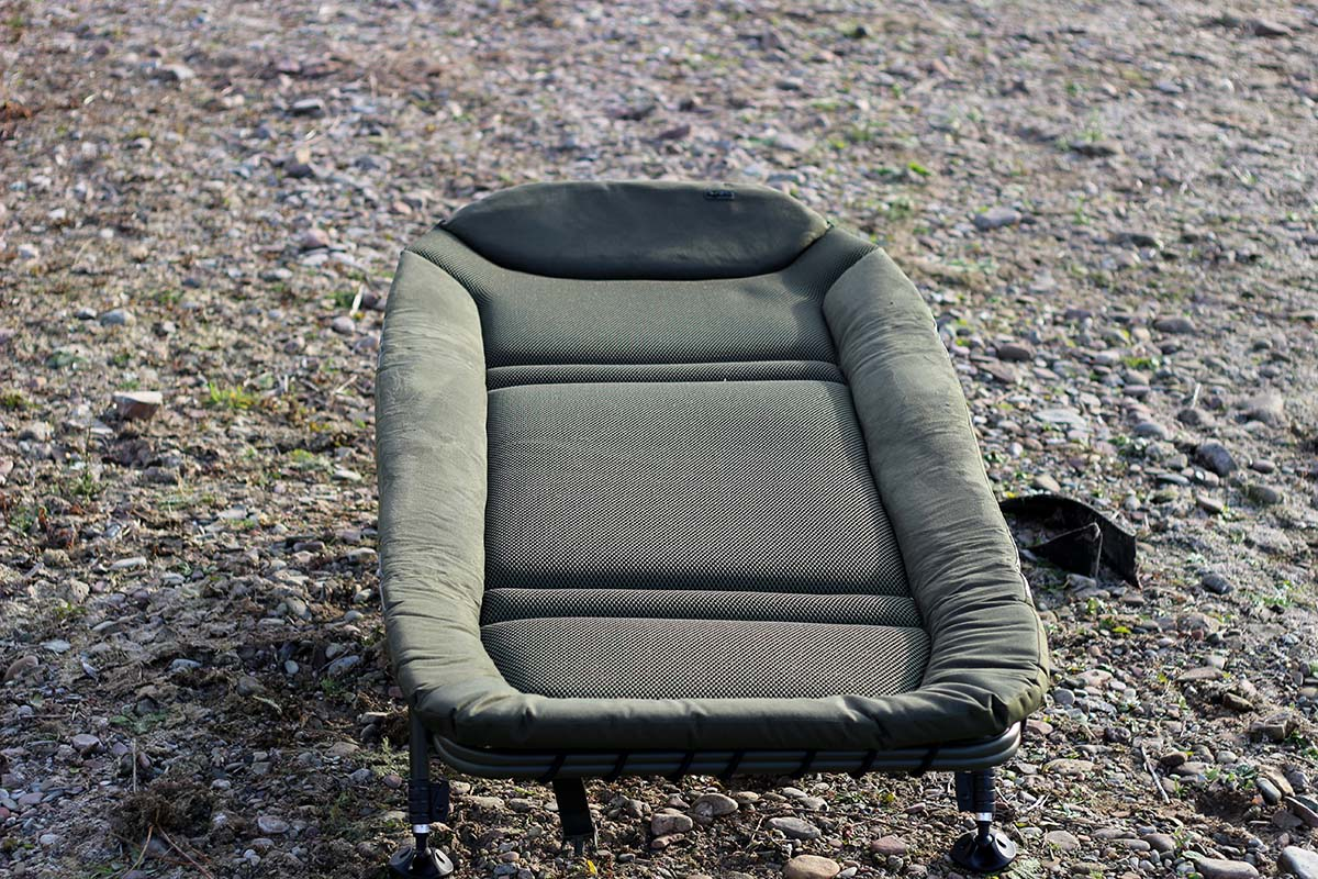 twelvefeetmag solar tackle sp c tech bedchair 20 -  - Solar Tackle, Bedchair