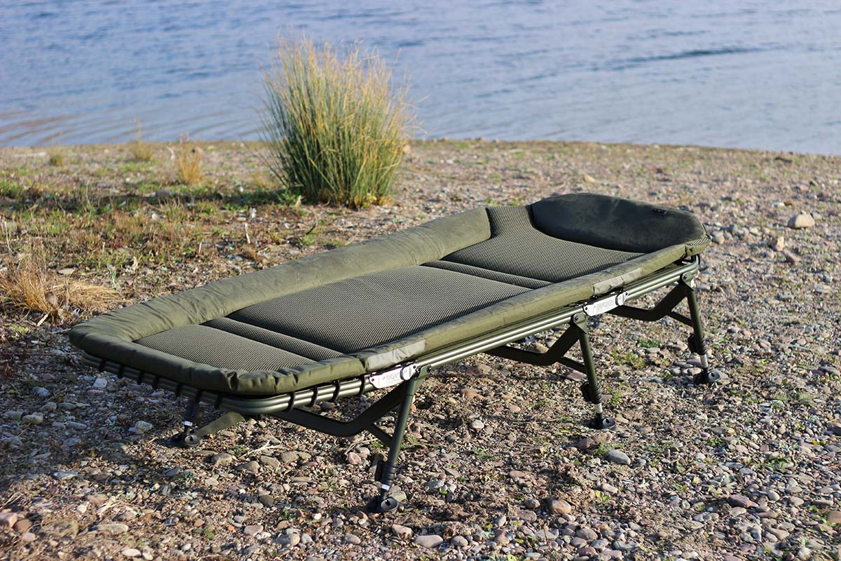 twelvefeetmag solar tackle sp c tech bedchair 24 -  - Solar Tackle, Bedchair