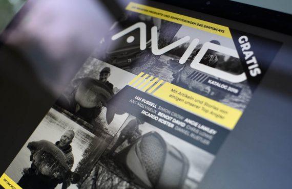 Digitaler Katalog von Avid Carp