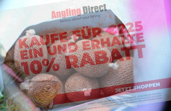 Wochenend-Special bei Angling Direct in England