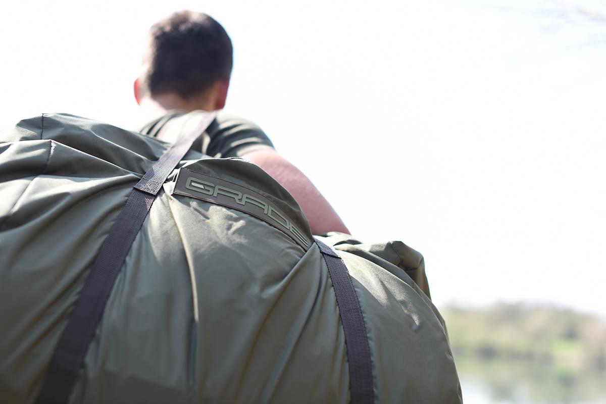 twelvefeetmag Strategy sleeping bag grade 1 -  - Schlafsack Karpfenangeln, Schlafsack, Grade Thermo Layer, Carpfishing Sleepingbag
