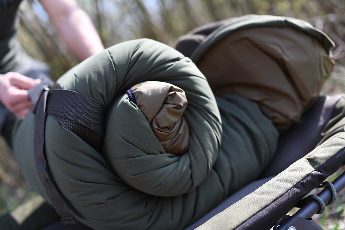 twelvefeetmag Strategy sleeping bag grade 15 -  - Schlafsack Karpfenangeln, Schlafsack, Grade Thermo Layer, Carpfishing Sleepingbag