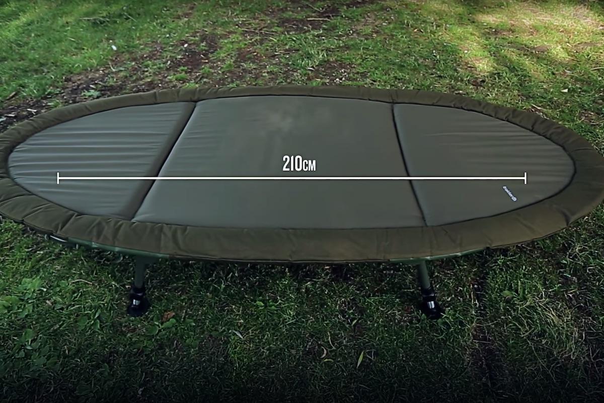 twelvefeetmag RLX Trakker Bedchair 3 -  - trakker, Karpfenangeln Liege, Bedchair, AngelHAACK