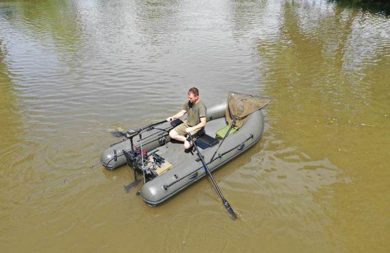 Neue Schlauchboote für Karpfenangler