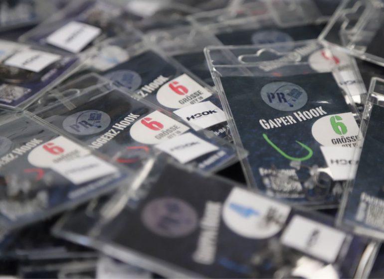 P.R. Baits kooperiert mit Hook Performance für noch schärfere Haken