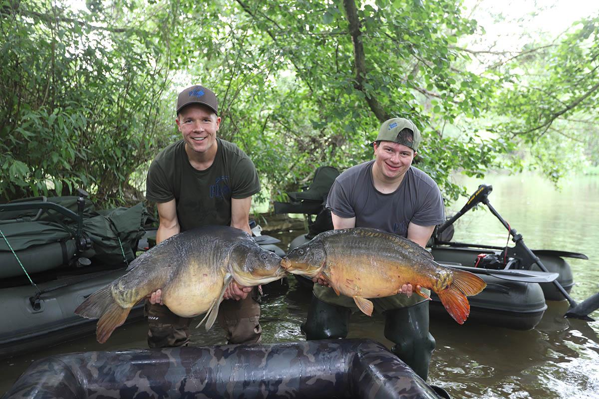 twelvefeetmag Karpfenangeln am Fluss 9 -  - Philipp Resch, Main, Karpfenangeln am Fluss, Carpfishing River, angeln