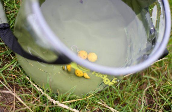 Neuer Bucket – mit Klarsicht zum Rigs testen