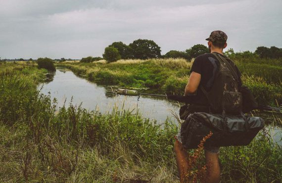 Flusskarpfenangeln in England – Jack Thompson
