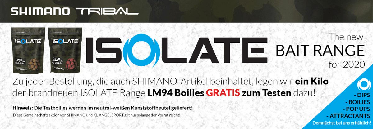 twelvefeetmag kl angelsport isolate boilies 1 1200x416 -  - Shimano, KL-Angelsport