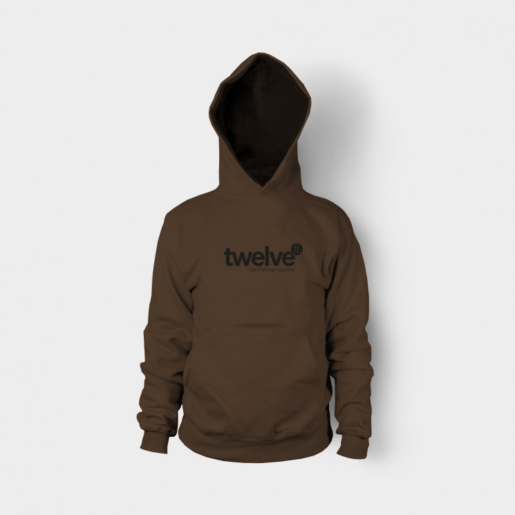 hoodie twelveft brown -  - twelve ft. Klamotten, twelve ft. Hoodie, twelve ft., karpfenmagazin