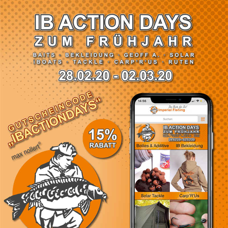 Banner IB ActionDays 1200x1200px DE 800x800 -  - imperial fishing