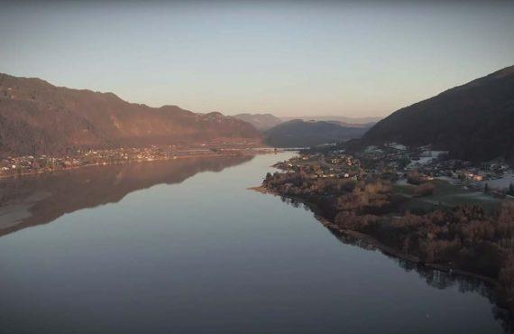 Winterkarpfen am großen Natursee – Video online