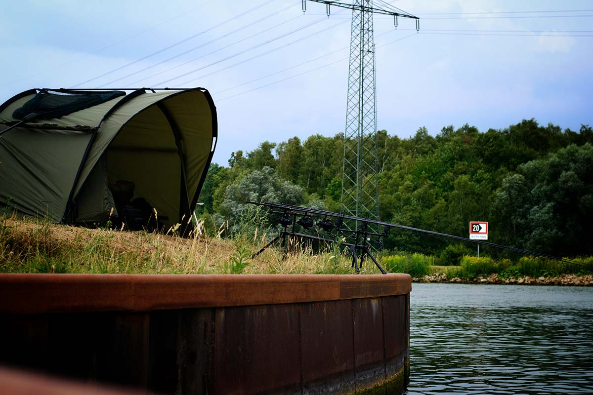 twelvefeet karpfenangeln im kanal alex heimann 4 -  - Karpfenangeln am Kanal, Kanalkarpfen, Kanalangeln