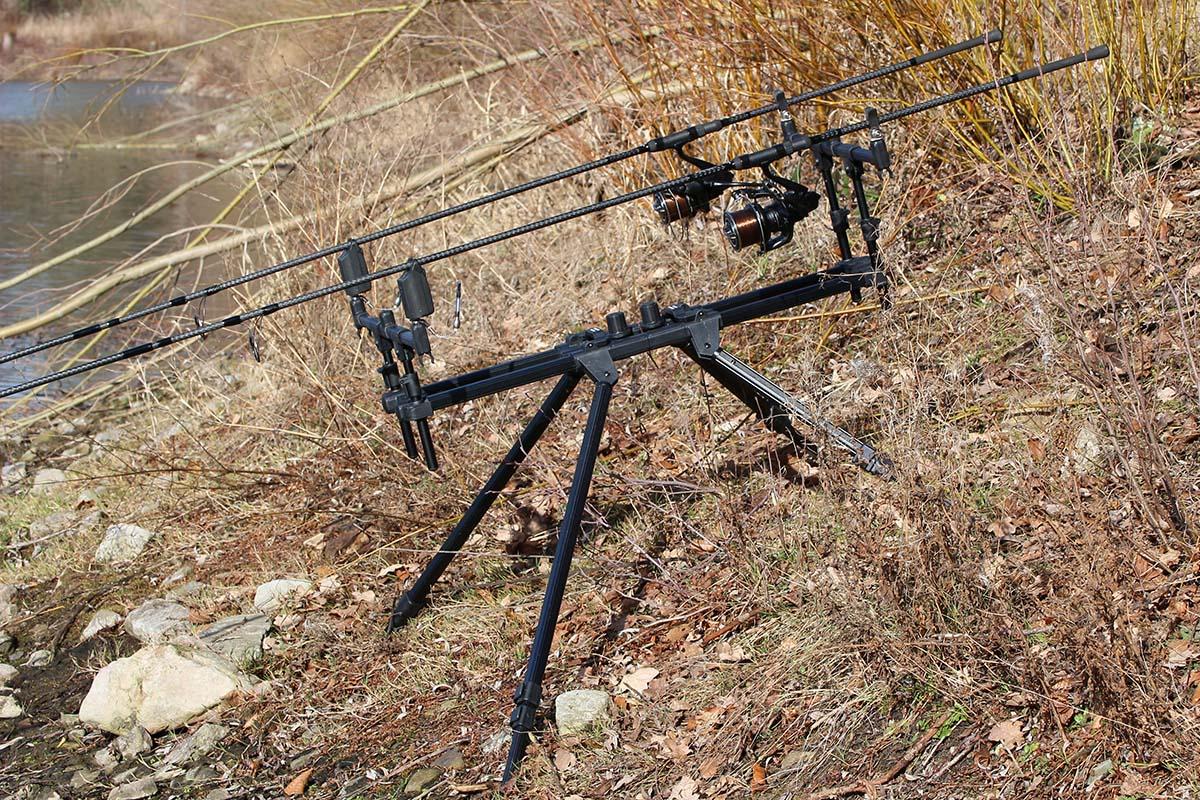 twelvefeetmag anaconda black barrier rod pod 5 -  - Anaconda Black Barrier Rod Pod