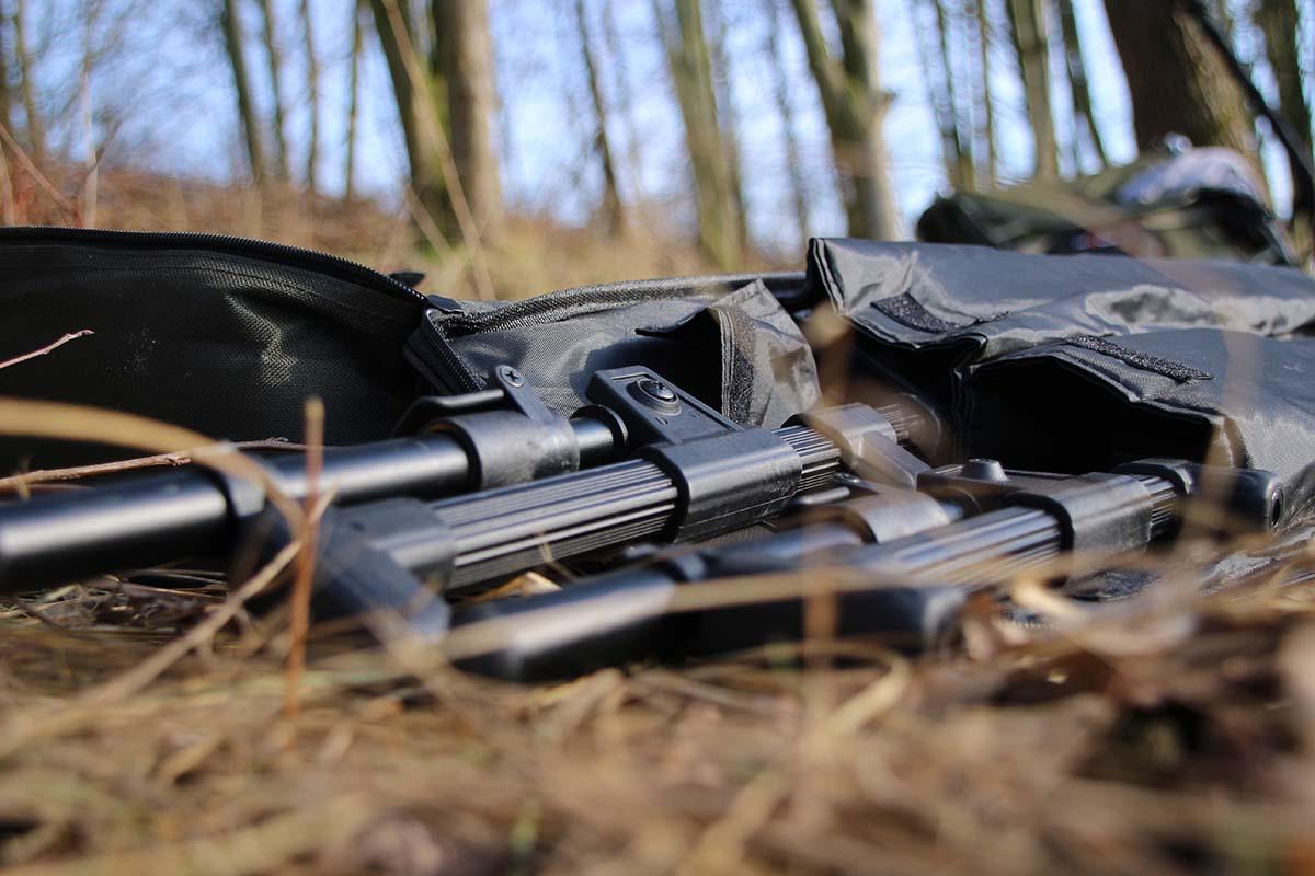 twelvefeetmag anaconda black barrier rod pod 8 -  - Anaconda Black Barrier Rod Pod