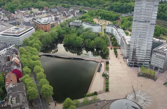 Karpfenangeln in der Großstadt – Marc Voosen fängt Citykarpfen