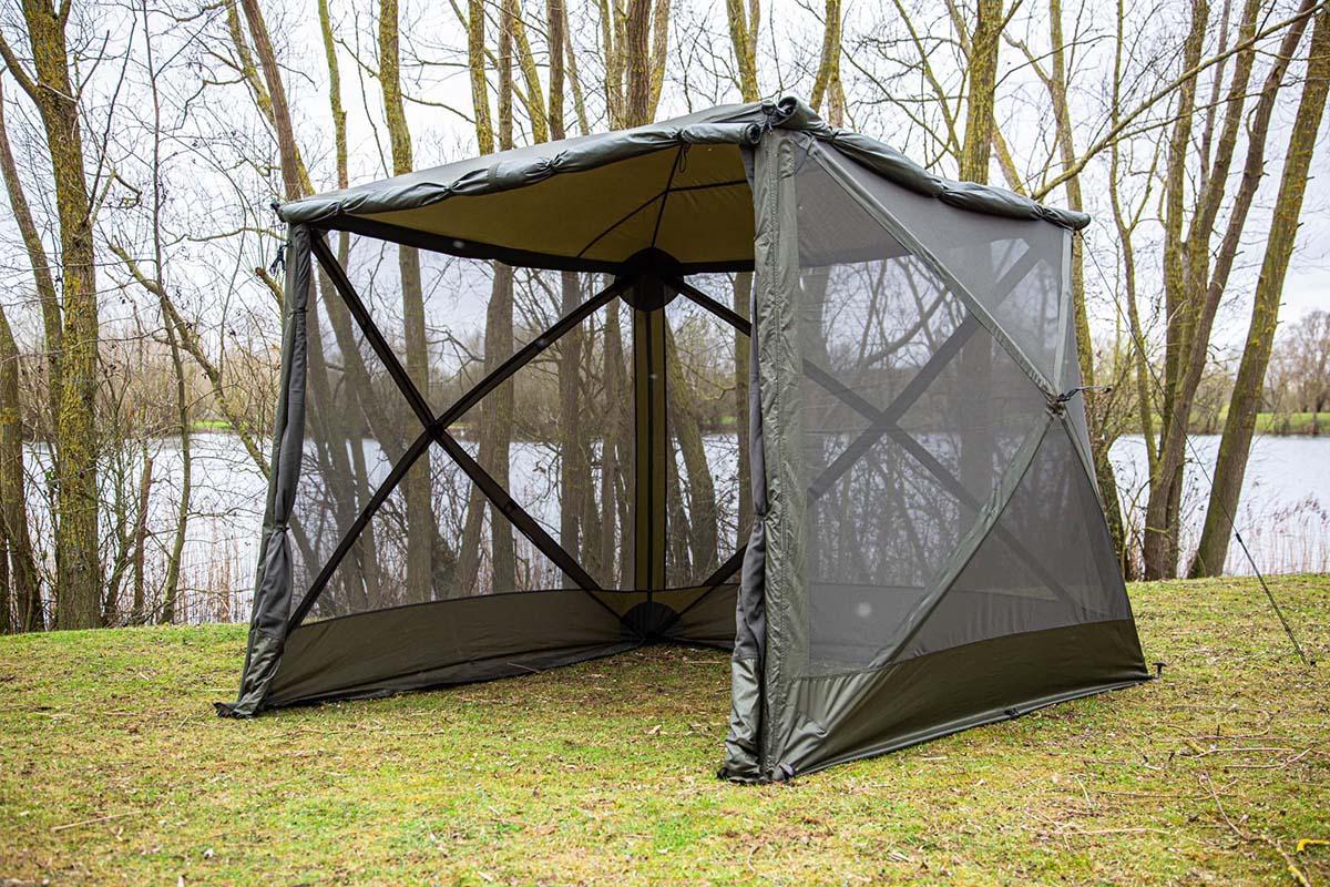 twelvefeetmag solar tackle sp cube shelter 1 -  - SP Cube Shelter, Solar Tackle, Solar SP Range