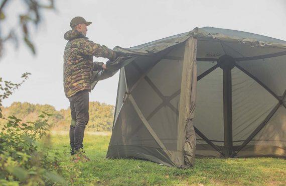 Steht in 60 Sekunden – Das SP Cube Shelter