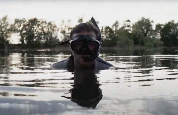 Tauchen beim Karpfenangeln – Simon Grolig wagt den Sprung ins…