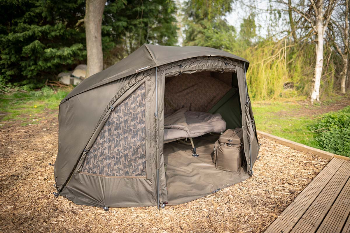 twelvefeetmag kl angelsport brolly angebote 6 -  - Solar UnderCover Camo Brolly System, KL-Angelsport, Fox Ultra 60 Khaki Brolly System, Avid Carp HQ Dual Layer Brolly System