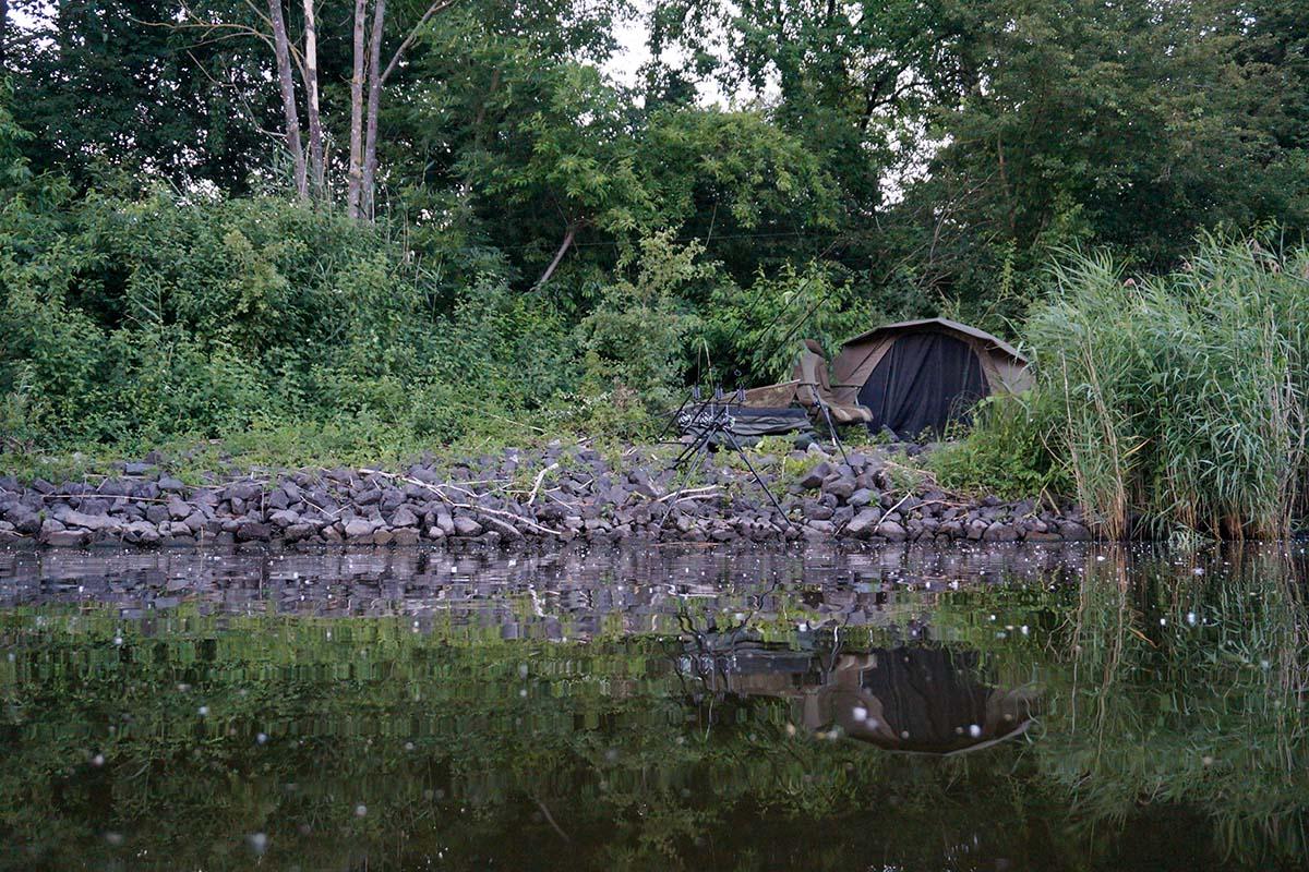twelvefeetmag attraktive plätze in großen flüssen 1 -  - Karpfenangeln am Fluss, Attraktive Platze in großen Flüssen