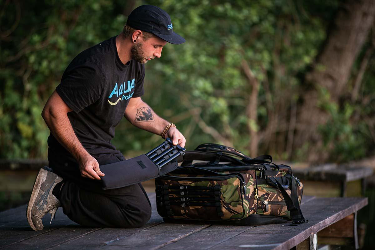 twelvefeetmag rucksack zum karpfenangeln 5 -  - Rucksack zum Karpfenangeln, Aqua Products, Aqua Deluxe Roving Rucksack