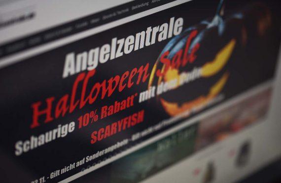 Angelzentrale mit Halloween-SALE