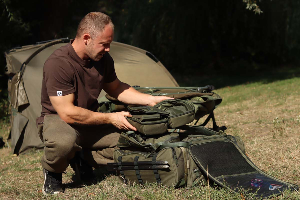 twelvefeetmag rucksack karpfenangeln marcel bassanello 2 -  - Rucksack zum Karpfenangeln