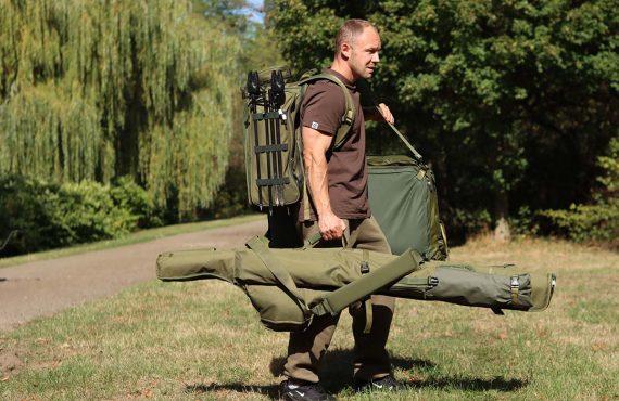 Ein Rucksack fürs Karpfenangeln – Alles drin. Alles kompakt.
