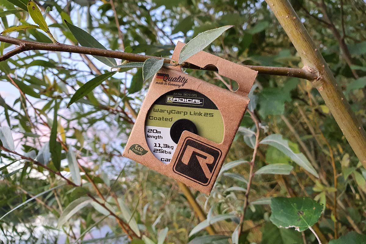 twelvefeetmag vorfachmaterial radical 4 -  - Radical WaryCarp Link, Radical Unloaded Dropcore Leader, Radical