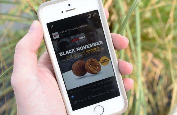Angling Direct startet Black November