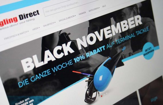 Angling Direct: Black November geht in die 2. Runde