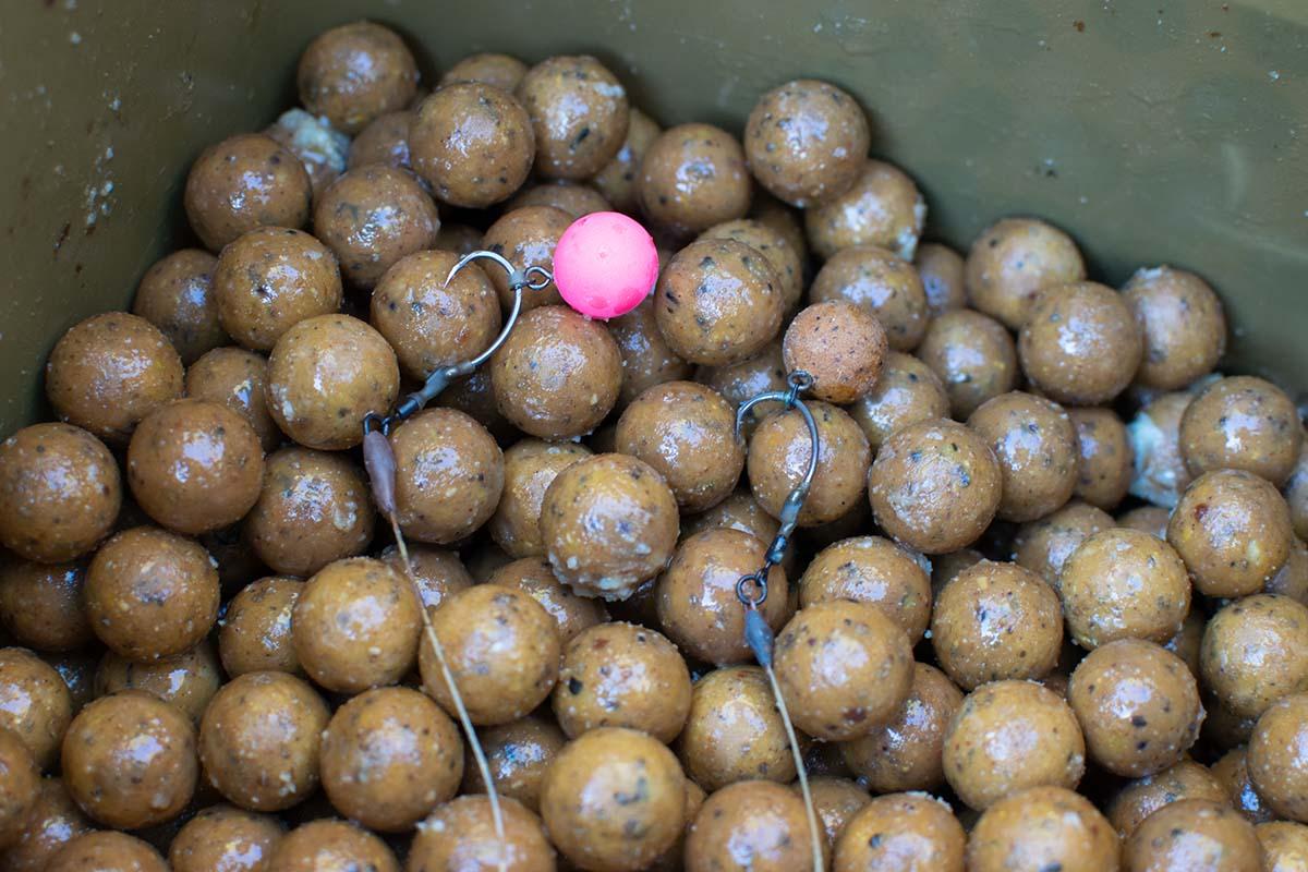 twelvefeetmag karpfenangeln im herbst andi rübsamen 3 -  - Sticky Baits, Futterplatzangeln, Futterplatz im Herbst, Andi Rübsamen