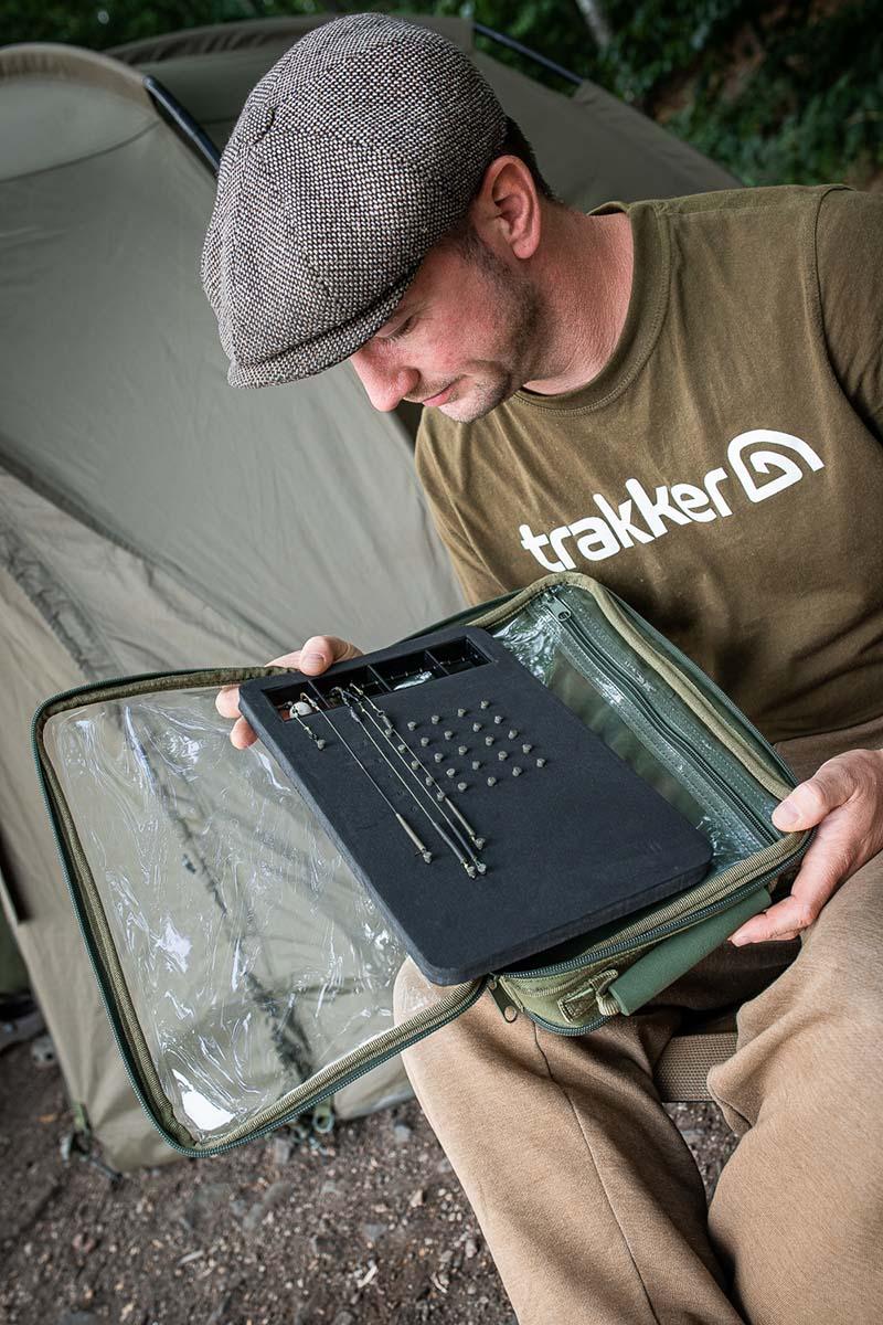 twelvefeetmag rigs aufbewahren 6 -  - Trakker Products, trakker, Rigs sortieren, Rigs aufbewahren